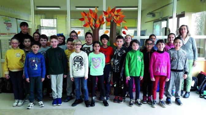 La quarta elementare della Scuola Fleming scrive ai bambini di Norcia.