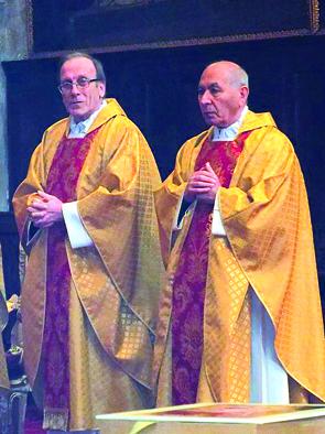 Il Capitolo della Cattedrale si rinnova. Immissione di due nuovi canonici mons. Antonio Donà e mons. Antonio Boccardo