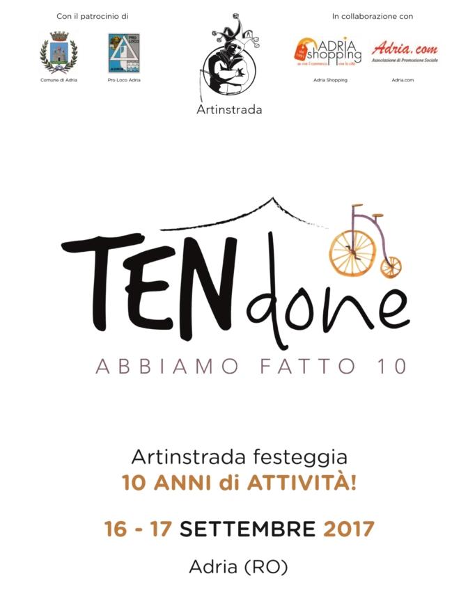 """""""Ten…done"""", dieci anni di Artinstrada. Il 16-17 Settembre nella città etrusca"""