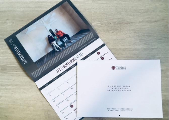 """Calendario 2018. Dieci anni con Caritas in allegato con """"la Settimana"""""""