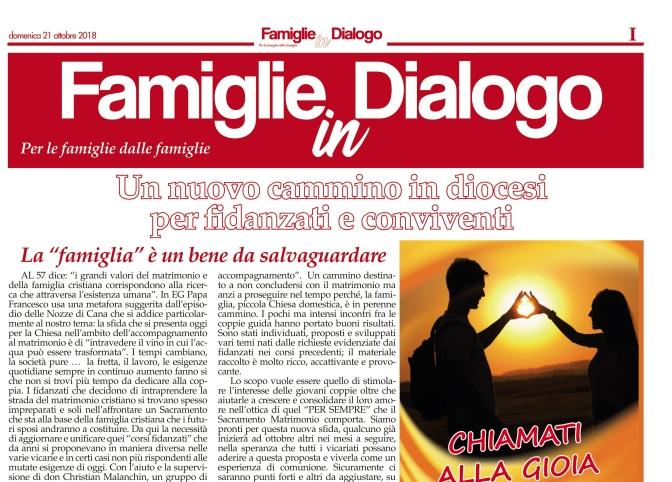 """Questa """"Settimana"""" speciale """"Famiglie in Dialogo"""""""