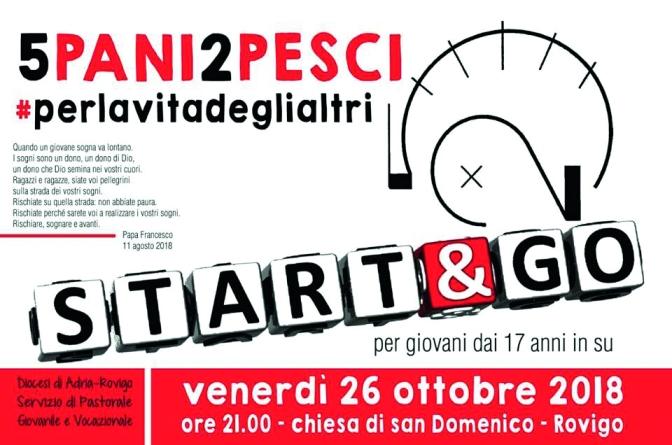 """Si parte! Don Enrico Turcato presenta il suo primo """"Start&go"""""""
