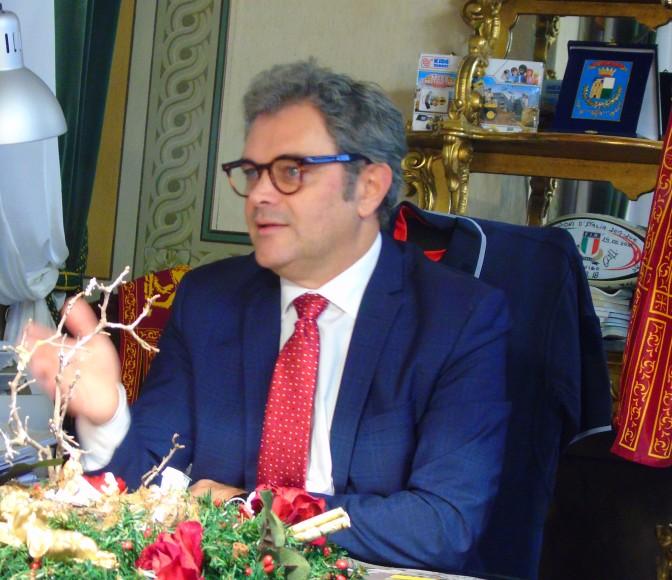 Il sindaco incontra i giornalisti per gli auguri di Natale